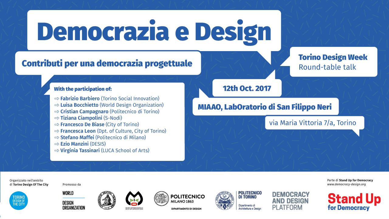 democrazia design WDO Torino
